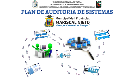 PLAN DE AUDITORIA DE SISTEMAS