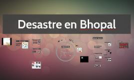 Desastre en Bhopal