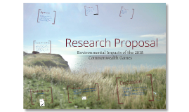 Environmental Research Proposal