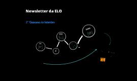 Newsletter da ELO