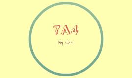 My class :7A4