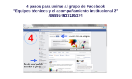 Copy of 4 pasos para unirse a un grupo en Facebook
