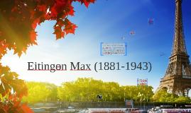 Max Eitingon