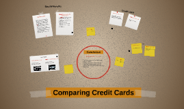 Copy of comparing Credit Cards