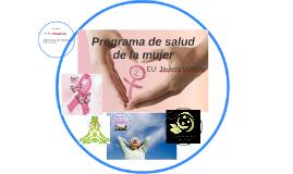 programa de salud de la mujer