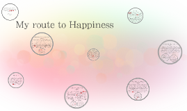 My route to Happiness