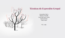 Técnicas de Expresión Grupal