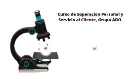 Curso de Superacion Personal y Servicio al Cliente.