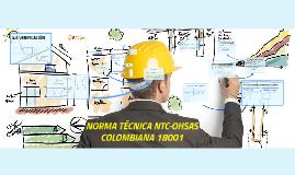 NORMA TÉCNICA NTC-OHSAS