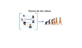 Teoria de les idees