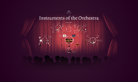 Copy of Instruments of the Orchestra