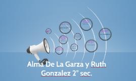 Alma De La Garza y Ruth Gonzalez