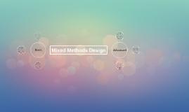 Copy of Mixed Methods Design