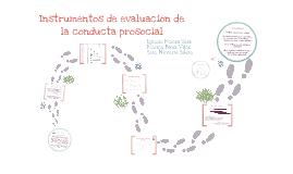 Copy of Instrumentos de evaluación de la conducta prosocial