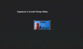 Capstone 2: Insulin Pump Video
