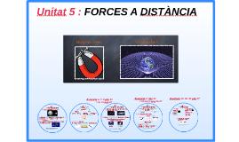 Unitat 5 : Forces a distància