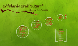 Copy of Cédula de Crédito Rural