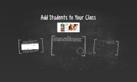 Add Students to Your Class