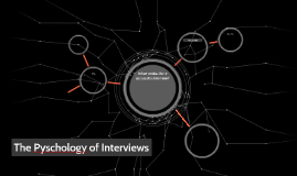 Pyschology of Interviews