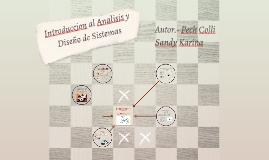 Copy of Introduccion al Analisis y Diseño de Sistemas