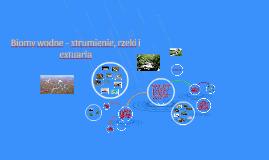 Biomy wodne - strumienie, rzeki i estuaria