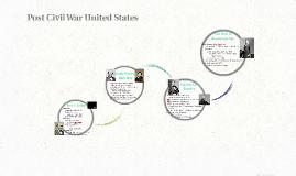 Post Civil War United States