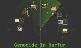 Genocide In The Sudan