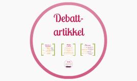Copy of Debattartikkel - Elever