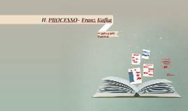 IL PROCESSO- Franz Kafka