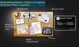 Empowering Women: A Work in Progress