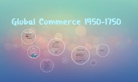 Global Commerce 1450-1750
