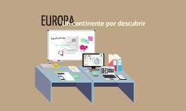 EUROPA : Un continente por descubrir - CCCE - Nicoleta Ilie