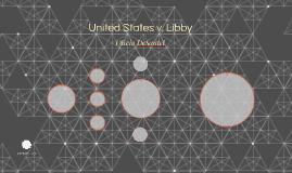United States v. Libby