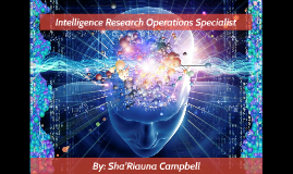 Intelligence Research Operations Specialist