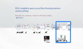 BOAI-compliant Open Access & content mining