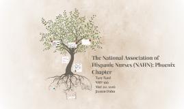 The National Association of Hispanic Nurses: Phoenix Chapter