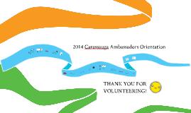 Carassauga Ambassadors Orientation 2014