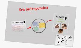 Era Antropozoica