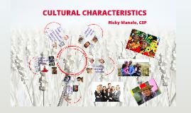 3A. Cultural Characteristics