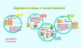 trend didattici e tecnologia in classe
