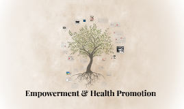 Empowerment & Health Promotion