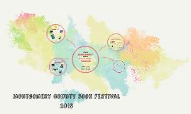 MONTGOMERY COUNTY BOOK FESTIVAL