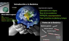 2018 Introducción a la Botánica (T1) para Ambientales