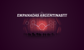 Empanadas Argentinas!!