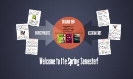 Spring 17 -ENGLISH 250 - RE