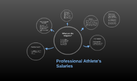 Professional Athlete's Salaries