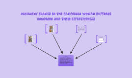 Argument Frames in the California Woman Suffrage Campaign an
