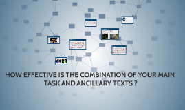 HOW EFFECTIVE IS THE COMBINATION OF YOUR MAIN TASK AND ANCIL