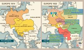 Az I. világháborút lezáró békerendszer