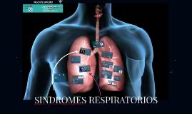 Sindromes respiratorios de VAS